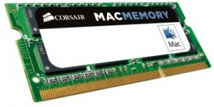 Corsair Mac Memory 16GB (2 x 8 GB) 1600MHz DDR3 CL11 SODIMM (pro Apple NTB)