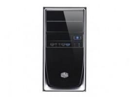 COOLERMASTER case Elite 344, mATX, black/silver, USB 3.0, bez zdroje