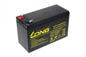 Long WP7-12 (12V/7Ah - Faston 250) PBLO-12V007-F1A