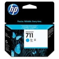 HP 711 29-ml Cyan Ink Cartridge, CZ130A