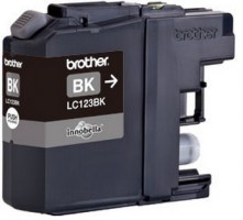 Brother LC-123BK (inkoust black,600 str.)