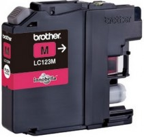 Brother LC-123M (inkoust magenta, 600 str.)