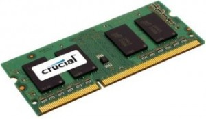 Crucial 8GB (Kit 2x4GB) DDR3 1600MHz CL11 SODIMM 1.35V