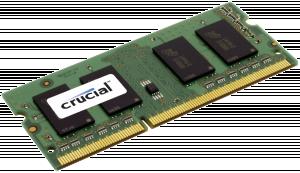 Crucial RAM 4GB DDR3 1600MHz CL11 SODIMM