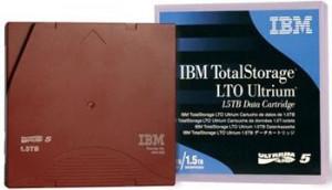 IBM LTO6 Ultrium 2,5/6,25TB, zálohovací páska