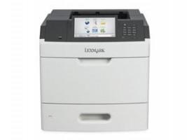 Lexmark MS812de, A4, 1200x1200dpi, 66ppm, duplex, LAN