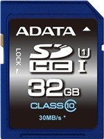 ADATA SDHC UHS-1 karta 32GB Class 10 (Transfer up to 30MB/s)