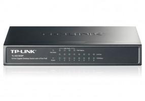 TP-LINK TL-SG1008P GBit PoE switch, 8x 10/100/1000Mbps/4x POE port
