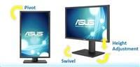 "ASUS MT IPS LCD 24.1"" PA249Q, 99%Adobe RGB, 100% sRGB, 1920x1080, pivot, 6ms, D-Sub, DVI-D, DP, HDMI"