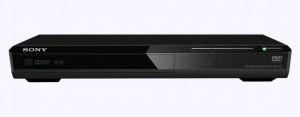 SONY DVP-SR170B - Tenký a kompaktní DVD přehrávač, černá barva