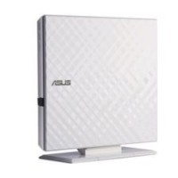 ASUS SDRW-08D2S-U LITE bílá barva externí DVD-RW