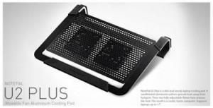 Cooler Master cooling notebook NotePal U2 Plus, černá barva
