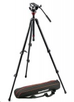 Manfrotto Lightweight Fluid Video System MVH500AH, 755XBK