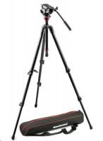 Manfrotto Lightweight Fluid Video System MVH500AH, 755XBK