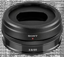 Sony E 20mm f/2.8 E-Mount Sony Objektiv