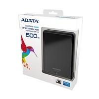 """ADATA HV620 DashDrive 500GB ext. HDD 2.5"""", USB 3.0, černý, lesklý"""