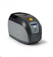 Zebra ZXP1, tiskárna karet, jednostranný tisk, USB, LAN, Eternet