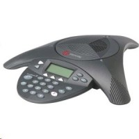 Polycom SoundStation 2 s LCD - audiokonference pro analogovou telefonní linku (DE verze)