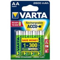 AKUMULATORY VARTA R6 2400 mAh 4 kusy