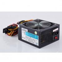 EUROCASE zdroj 650W, 14cm fan, PFC ATX 20/24pin, 3x SATA