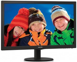"Philips LCD 243V5LHAB/00, 23.6"" LED,DVI, HDMI, 1920x1080, č"