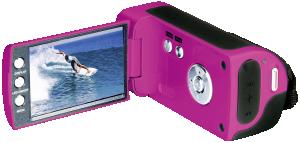 Easypix DVC5227 Flash růžová barva