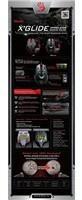 A4tech BLOODY V8 herní myš, až 3200DPI, HoleLess technologie, 160KB paměť, USB, CORE 2, kovové podložky