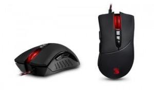 A4tech BLOODY V3 Core2 s kovovýma nožičkama, herní myš, až 3200DPI, HoleLess technologie, 160KB paměť, USB
