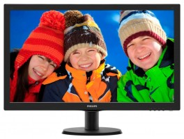 """Monitor Philips V-line 273V5LHAB/00, 27"""" LED FHD, DVI,HDMI, EPEAT Silver,ES 6.0"""