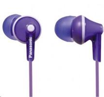 Panasonic RP-HJE 125 E-V fialová barva