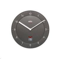 Braun BNC 006 Rádiem řízené nástěnné hodiny šedá barva
