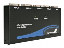 StarTech 4 Port VGA Video Splitter 350 MHz