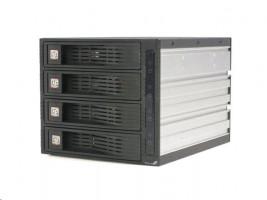Mobilní Rack 4 x SATA 3.5 (HSB430SATBK)
