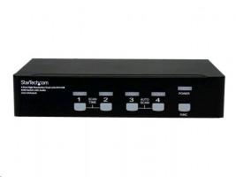 StarTech 4 Port Dual Link DVI USB KVM přepínač