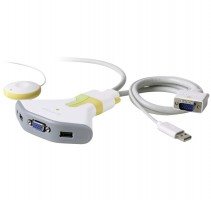 Belkin 2-Port KVM Switch s USB