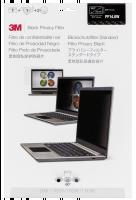 privátní filtr pro Widescreen Notebooks 3m Pf14.0w