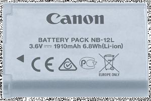 Canon NB 12L - Baterie fotoaparátu Li-Ion 1910 mAh - pro iVIS mini X; LEGRIA mini X; PowerShot G1 X