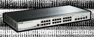 D-Link DGS-1510-28 Switch 24xGbit + 2xSFP + 2xSFP+