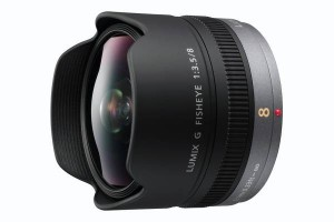 Panasonic H-F008E - LUMIX G FISHEYE 8mm/F3.5