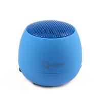 Gembird přenosní reproduktory (iPod, MP3 player, mobilní telefon, laptop) blue