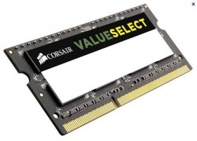 CORSAIR 8GB=2x4GB SO-DIMM DDR3L PC3-12800 1600MHz CL11-11-11-28 1.35V (kit 2ks 4096GB)