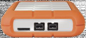 "External HDD LaCie Rugged Triple 2.5"" 2 TB USB3 & FW8 5400, Shock resistant"