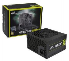 Fortron HEXA+ 500, 500W, PCI-E, >80%