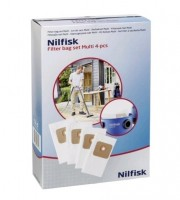 Nilfisk filtrovací sáček pro multifunkční vysavače 4 ks