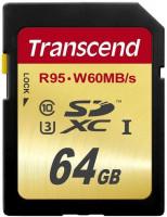 Transcend SDXC 64GB karta Class10, UHS-I U3 (čtení/zápis: 95/60MB/s)
