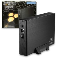 "AXAGO USB3.0 - SATA 3.5"" externí ALINE box"