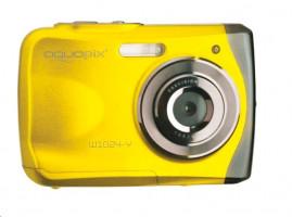 "Fotoaparát EasyPix W1024 Splash vodotěsný 3m, CMOS 10 Mpx, 2,4"" LCD, žlutý"