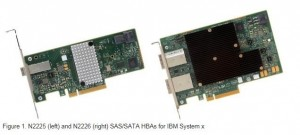 IBM N2225 12Gbps SAS/SATA HBA for IBM System x