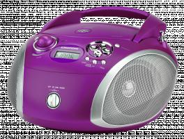 Grundig RCD 1445 USB purple/silver