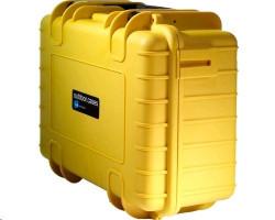 B&W International Type 3000 yellow incl. Padded Divider